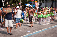 Rio de janeiro Street Carnival foto de stock royalty free