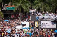 Rio de janeiro Street Carnival imagens de stock