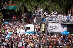 Rio de janeiro Street Carnival fotos de stock