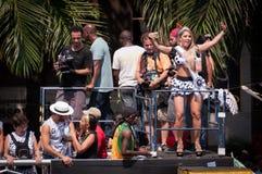 Rio de janeiro Street Carnival foto de stock