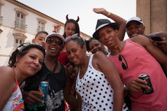 Rio de janeiro Street Carnival fotografia de stock royalty free