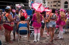 Rio de Janeiro Street Carnival Images stock