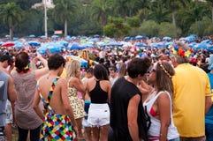 Rio de Janeiro Street Carnival Photo stock