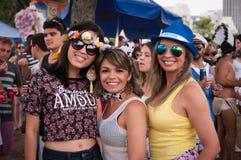 Rio de Janeiro Street Carnival Photos libres de droits