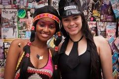 Rio de Janeiro Street Carnival Images libres de droits
