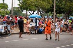 Rio de Janeiro Street Carnival Image stock