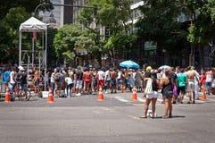 Rio de janeiro Street Carnival imagem de stock royalty free