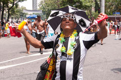 Rio de Janeiro Street Carnival Royaltyfri Bild