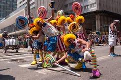 Rio de Janeiro Street Carnival Fotografering för Bildbyråer