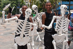 Rio de Janeiro Street Carnival Stock Images