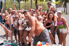 Rio de Janeiro Street Carnival Stock Image