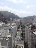 Rio de Janeiro Street Traffic royaltyfria foton