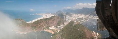 Rio de Janeiro, Sugar leaf view landscape panorama Stock Image