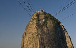 Rio de Janeiro - The Sugar Loaf Peak Stock Images