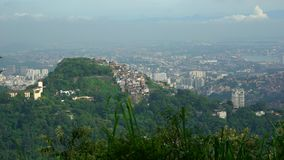 Rio De Janeiro Sugarloaf berg och cityscape lager videofilmer