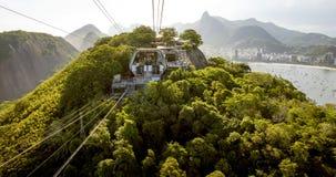 Rio de Janeiro with Sugarloaf mountain, Brazil stock photo