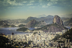 Rio de Janeiro on sunny day Royalty Free Stock Images
