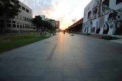 Rio de janeiro tem o dia de inverno o mais quente: 37 graus Célsio Foto de Stock