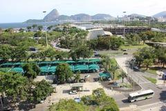 Rio de Janeiro top view Stock Image