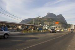 Rio de Janeiro 2016: Tunnelbanaarbeten kan försena tack vare ekonomisk kris Royaltyfri Foto