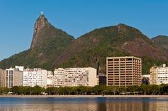 Rio de Janeiro Urban Area with Corcovado Royalty Free Stock Images