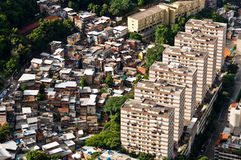 Rio de Janeiro Urban Contrast Imágenes de archivo libres de regalías