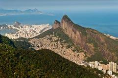 Rio de Janeiro Urban and Nature Contrasts Stock Photography