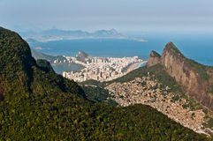 Rio de Janeiro Urban and Nature Contrasts Stock Photo