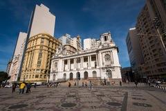 Rio De Janeiro urząd miasta Zdjęcia Royalty Free