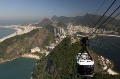 Rio de Janeiro van hierboven royalty-vrije stock foto