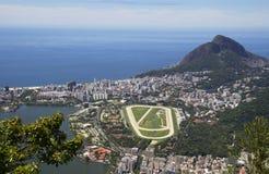Rio de Janeiro. View from Corcovado mountain. Stock Photos
