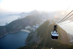 Rio de Janeiro, view from Sugar Loaf Royalty Free Stock Photo
