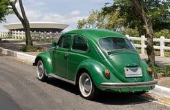Rio De Janeiro - vintage car Royalty Free Stock Images