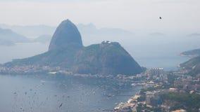 Rio de janeiro, vista do Corcovado Imagem de Stock Royalty Free