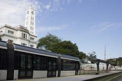 Rio de Janeiro VLT ska vara klar för Rio de Janeiro 2016 OS Arkivbilder
