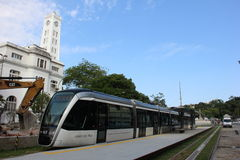 Rio de Janeiro VLT ska vara klar för Rio de Janeiro 2016 OS Royaltyfri Foto
