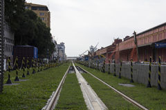 Rio de Janeiro VLT ska vara klar för Rio de Janeiro 2016 OS Royaltyfria Foton