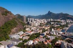 Rio de Janeiro-Vogelperspektive stockfoto