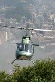 Rio de Janeiro von der Ansicht des Bartes Stockfoto