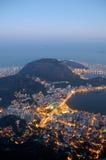 Rio de Janeiro von oben Stockbilder