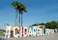 Rio de Janeiro vor den Olympischen Spielen Stockbild