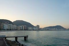 Rio De Janeiro waterfront Royalty Free Stock Photos