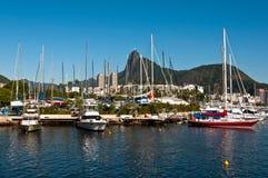 Rio de Janeiro Yacht Club Fotografía de archivo