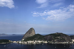 Rio de Janeiro, Zuckerlaib Stockfotografie