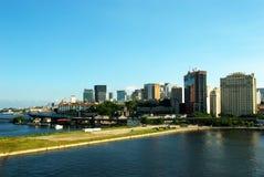 Rio- de Janeiroim stadtzentrum gelegene Stadtansicht Lizenzfreies Stockfoto