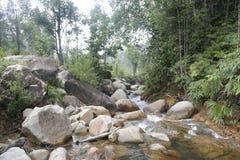 Rio de Jerangkang imagens de stock