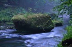Rio de Kamenice Imagem de Stock Royalty Free