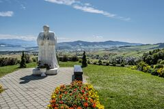 Free Rio De Klin, Orava Region, Slovakia, Religious Architecture Stock Photography - 195014472