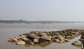 Rio de Kong em Tailândia Fotos de Stock