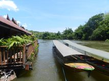 Rio de Kwai Fotos de Stock Royalty Free